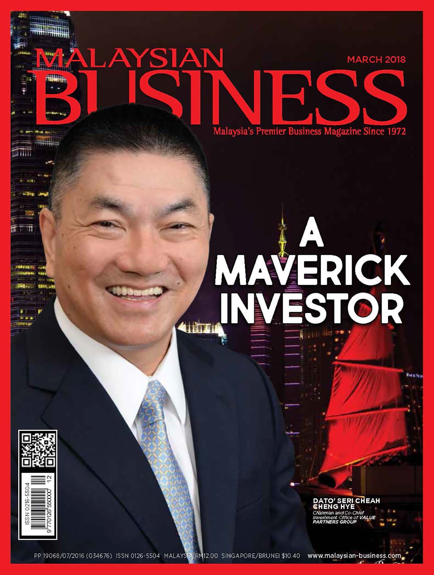 malaysian business magazine may 2018